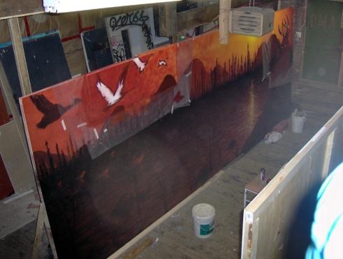 art murales design intérieur décoration