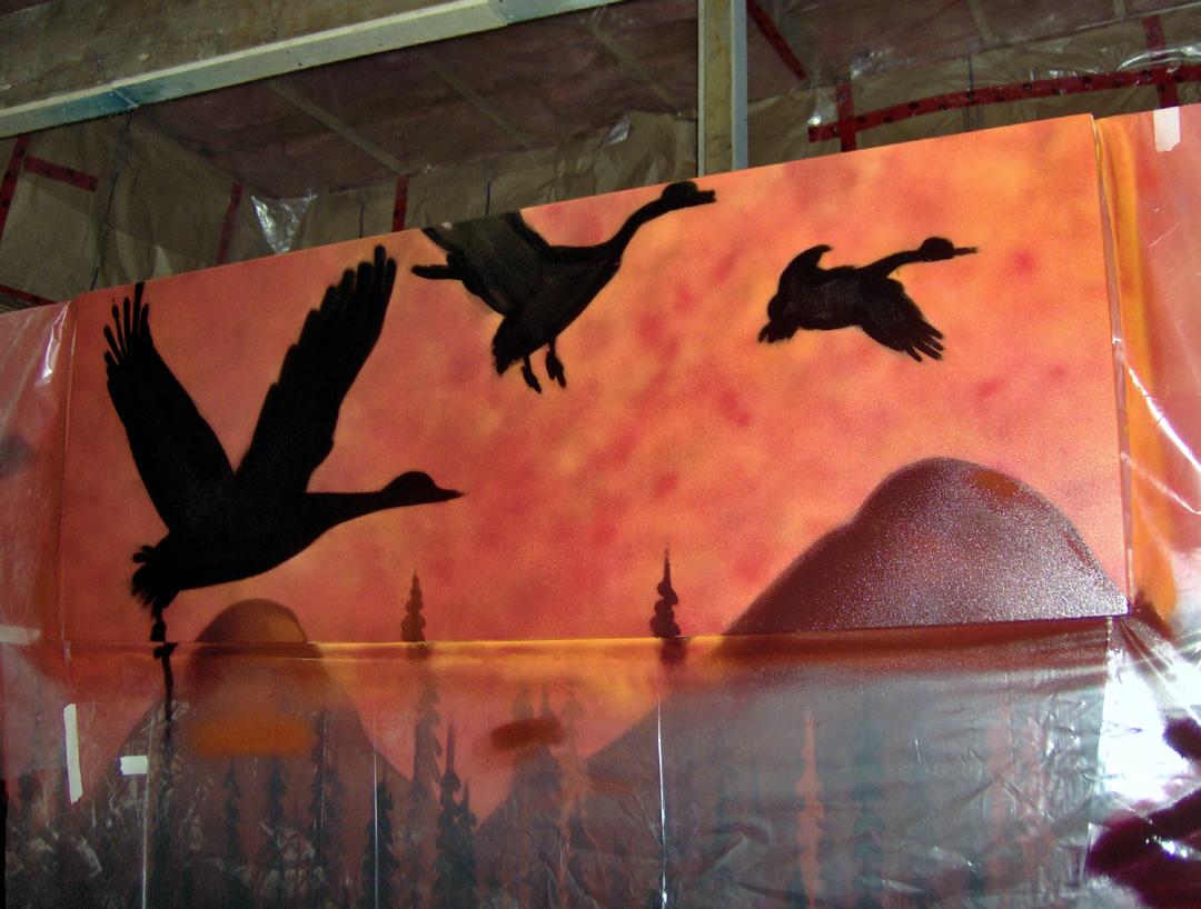 murales design intérieur décoration art tendance déco mural