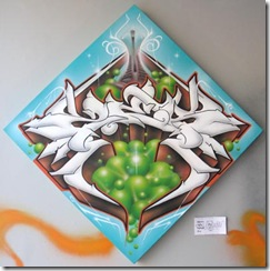 graffiti stade olympique hip hop zeck