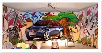 murale-graffiti-festival-de-blues-mont-tremblant-volkswagen-muralistes-t-shirt