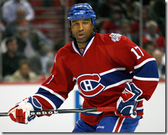 georges laraque photo photographie canadiens de montréal
