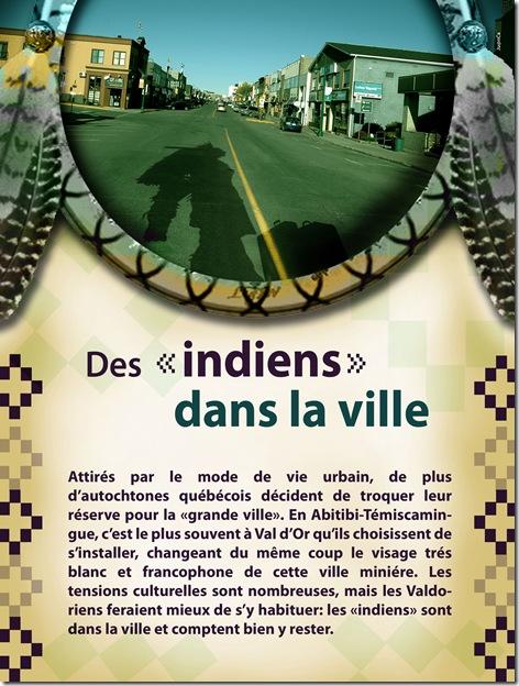 ville indiens autochtones premieres nations autochtone