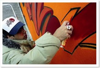graffiteur suisse graffiti montréal hip hop