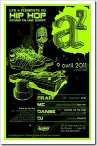 Soirée breakdance graff mc dj danse