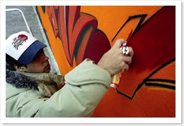 graffiti muraliste graff art urbain culture hip hop