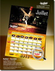 calendrier 2014 graffiti breakdance hiphop