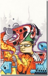 pine-affiche-illustration-bandes-dessinées-personnage-perso-graff-graffiti