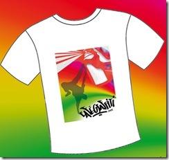 t-shirt breakdance tee-shirt graffiti hiphop impression poster affiche