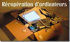 ordinateur environnement récupération déchets recyclables