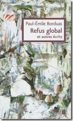 refus_global cri libert� pau �mile borduas