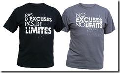 t-shirts pas d'excuse pas de limite lazy legz breakdancer t-shirt breakdancing