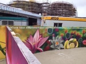 murale stade olympique planetarium biodome jardin botanique