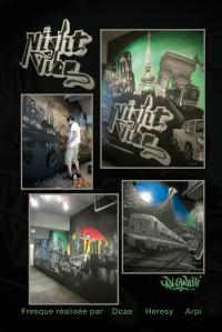 affiche graffiti murales muralistes art urbain urban art hiphop culture urbaine