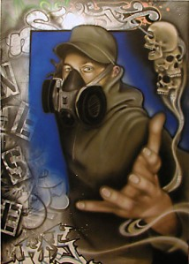 nessi graffiti art urbain hiphop street art graff graffer exposition