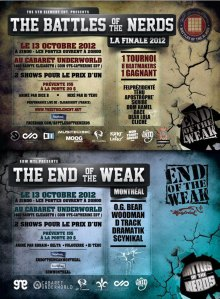 battles-of-the-nerds end-of-the-weak battles-mc-rap-beatmaking