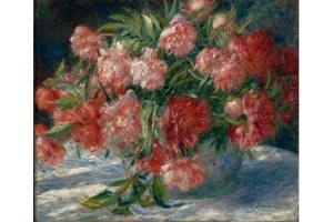 Renoir_Pivoines art culture peinture artistes