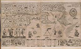 Samuel_de_Champlain_Carte_geographique_de_la_Nouvelle_France francophone histoire