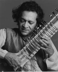 Ravi+Shankar+sitar george harrison beatles