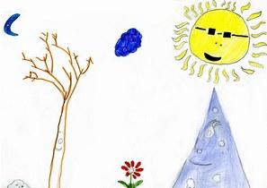 dessin d_enfant famille familiale parent enfants jeunes père mère