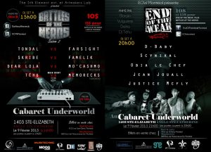 évènements-battle-of-the-nerds-saison2-end-of-the-weak-cabaret-underworld-rap-hip-hop
