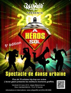 spectacle financement cafe graffiti breakdance danses urbaines danse hiphop