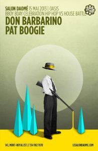 don barbarino pat boogie oasis wednesday salon daome