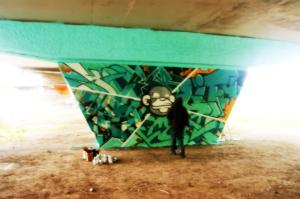 piliers graffiti viaduc van horne isabelle winters crazy apes