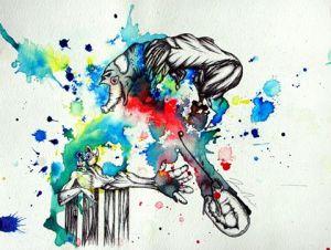 slam rap poesie live painting