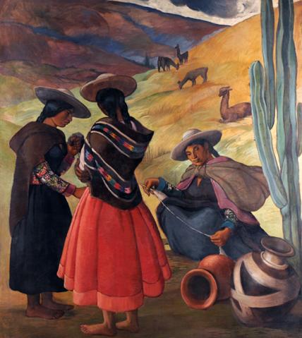 autochtone pérou péruvien art culture indien musée beaux arts montréal