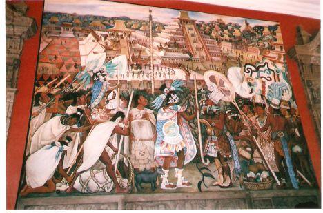 Diego Rivera, Mexique, 1950 autochtone art culture musée beaux arts montréal