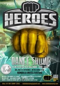 mp heroes dance show