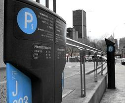 parcomètres stationnement montréal ville