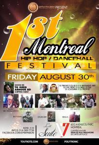 1st Montreal Hip hop Festival