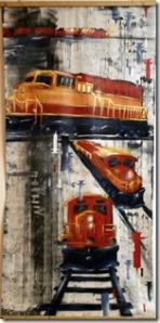 train wagon lac megantic graffiti toiles