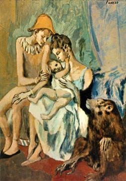 Famille_d_acrobate_avec_singe picasso art culture