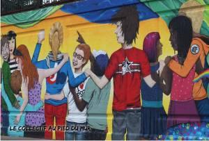 Le collectif au pied du mur