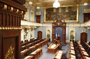 Salle_Assemblee_nationale_Quebec gouvernement politique politicien