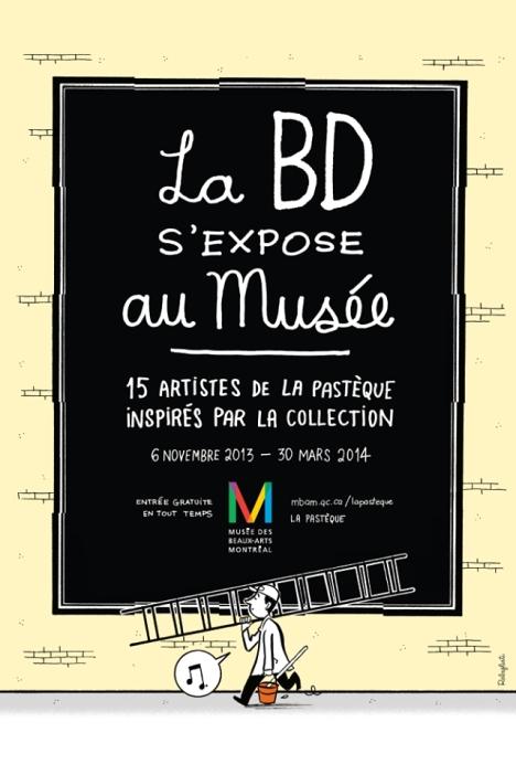 La-Pasteque-au-Musée beaux arts montréal bandes dessinées bd illustrations