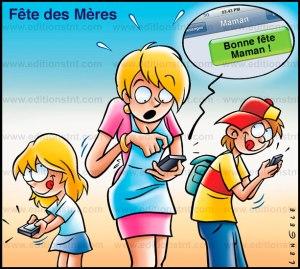 fete des mères maman bandes dessinées comiques humour t-shirt humoristique