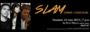 Slam soiree concours