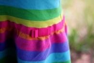 rainbow-dress éco designer design mode vêtements féminins