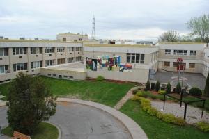 murale centre jeunesse cité des prairies graffiti muraliste