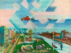 peinture gaspésie tourisme péninsule gaspésienne roland noel