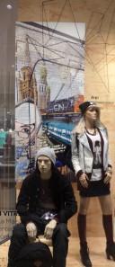vitrines street art maison simons artistes urbains