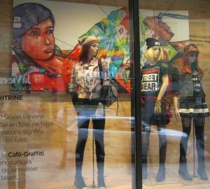 street art maison simons artistes urbains vitrines