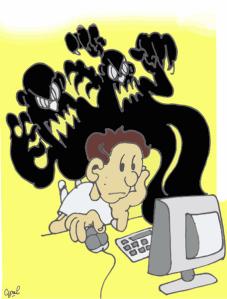 cyberintimidation-web intimidation taxage violence jeunes école