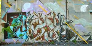 murale graffiti production monk-e artiste urbain street art