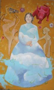 madonnes fabienne nozerand vernissage art collection peinture