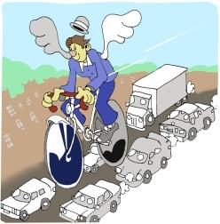 vélo ville mode transport