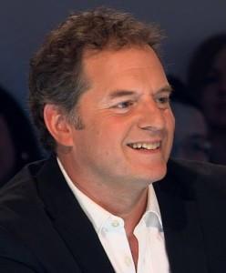 Paul Doucet Les enfants de la télé. André Robitaille et Caroline Néron